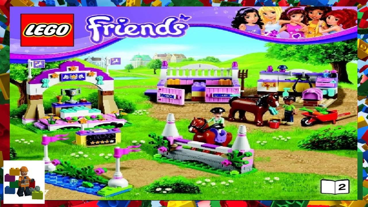 LEGO instructions - LEGO Friends - 41057 Heartlake Horse Show (Book 2)