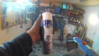 Nissan X Trail ремонт и покраска заднего бампера. Часть 2.