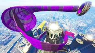 GTA Online: Maze Bank Loop - Custom 30 Player Stunt Race! (GTA 5 Cunning Stunts DLC)