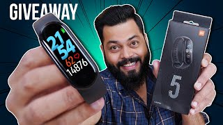 """Mi Band 5 Unboxing & First Impressions ⚡⚡⚡ 1.1"""" AMOLED, 14 Days Battery & More (Giveaway)"""