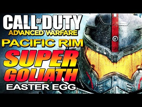 "Advanced Warfare - Secret Pacific Rim ""SUPER GOLIATH"" Easter Egg"" on Ascend (COD AW) Call of Duty"