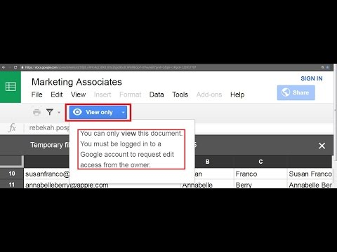 How To Download View Only Google Sheet - Easyway16