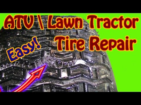 diy-how-to-repair-a-punctured-lawn-tractor-tire-how-to-use-a-plug-kit-to-repair-an-atv-off-road-tire