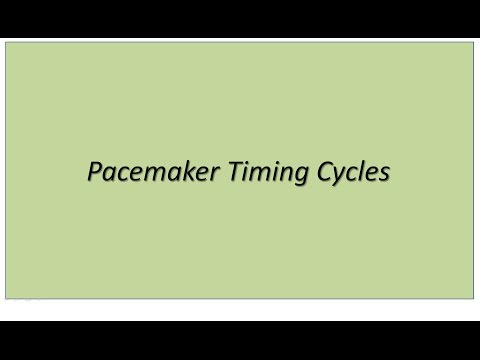 Pacemaker Timing Cycles