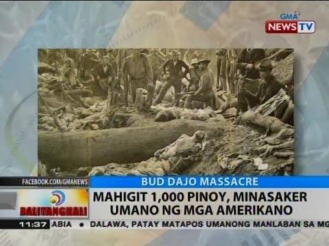 Download BT: Mahigit 1,000 Pinoy, minasaker umano ng mga Amerikano