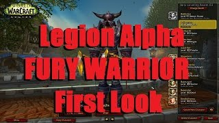 Bajheera - FURY WARRIOR Artifact Quests, Class Hall, & Gameplay! :D - WoW Legion Alpha
