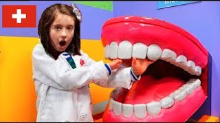 Pretend Play Kids Learning at the Dentist
