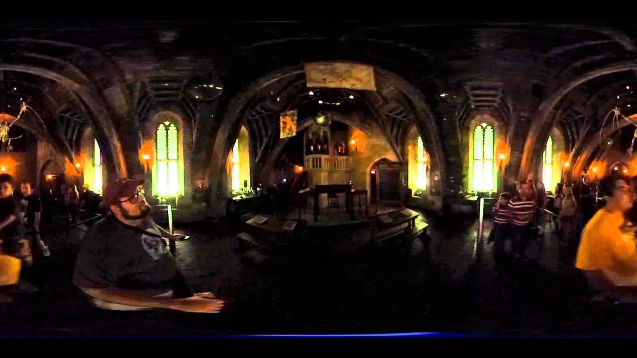 Defense Against The Dark Arts Classroom Hogwarts 360 Pov Youtube