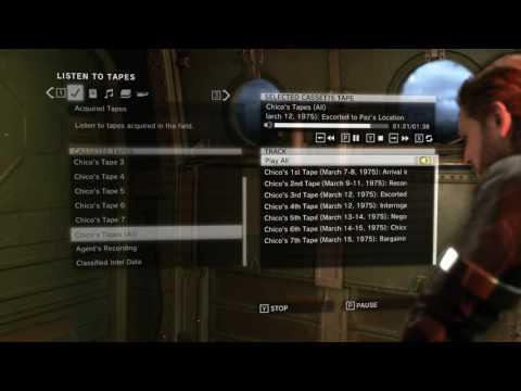 Metal Gear Solid V: Ground Zeroes Kasetler Türkçe Altyazılı