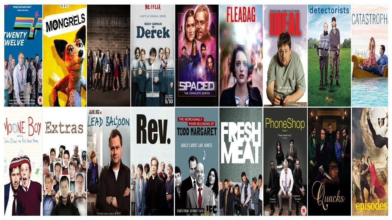 Download Лучшие британские комедийные сериалы / Best british comedy series