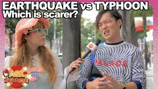 Earthquakes VS Typhoons in Japan: What is scarier for Japanese people?