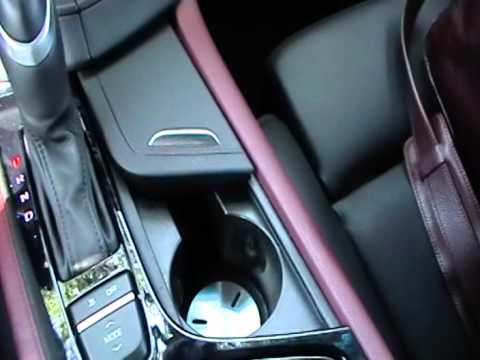 2014 Cadillac Cts Vsport Cup Holder Youtube