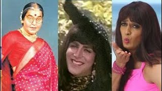 20 Bollywood Actors In FEMALE GETUP