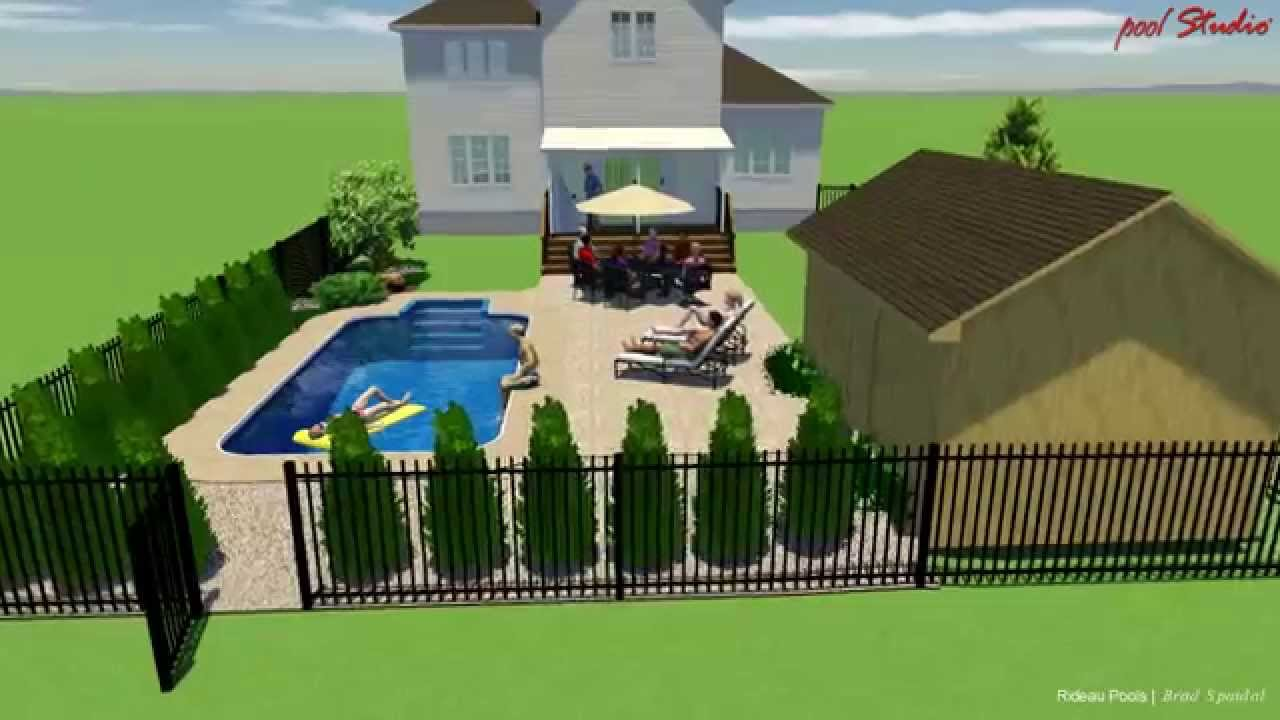 12 x 24 rectangle inground pool design rideau pools for 12x24 pool design