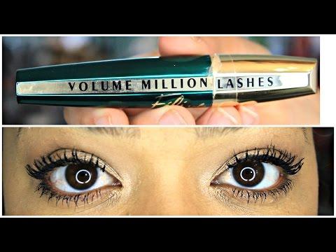 c9b8a0cc438 New L`oreal Volume Million Lashes Feline Mascara - YouTube