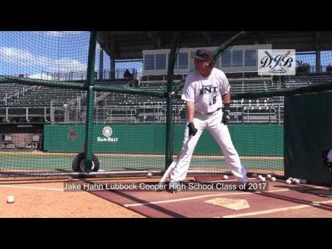 Jake Hahn Lubbock Cooper High School Class of 2017