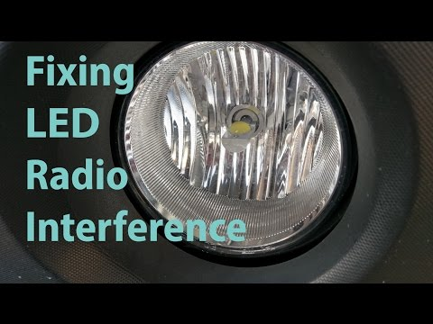 fixing-led-headlight-radio-interference