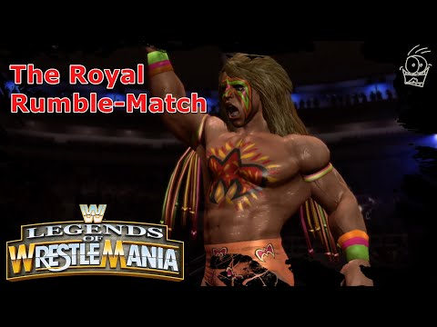 """Legends Of Wrestlemania(XBOX360) """"The Royal Rumble Match"""""""