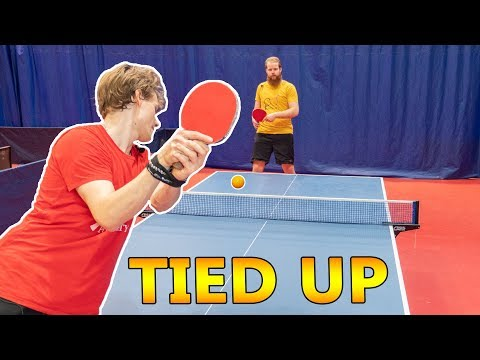 Hands Tied Ping Pong