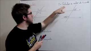 Geometria Plana - Ângulos - Prof. Gui