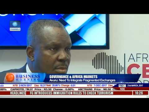 Business Morning: Governance & Africa Markets