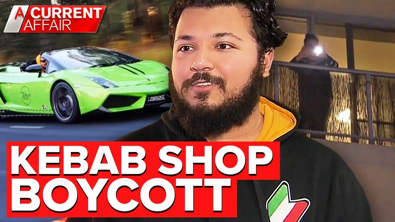 Kebab shop owner egged after sharing anti-gay meme | A Current Affair