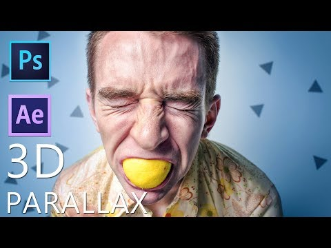 After Effects + Photoshop Tutorial: 3D Parallax thumbnail
