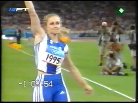 Athens 2004 Olympic games - Javelin woman final