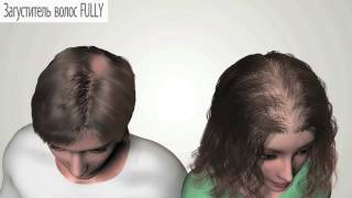 видео Камуфляж для редких волос.Топпик