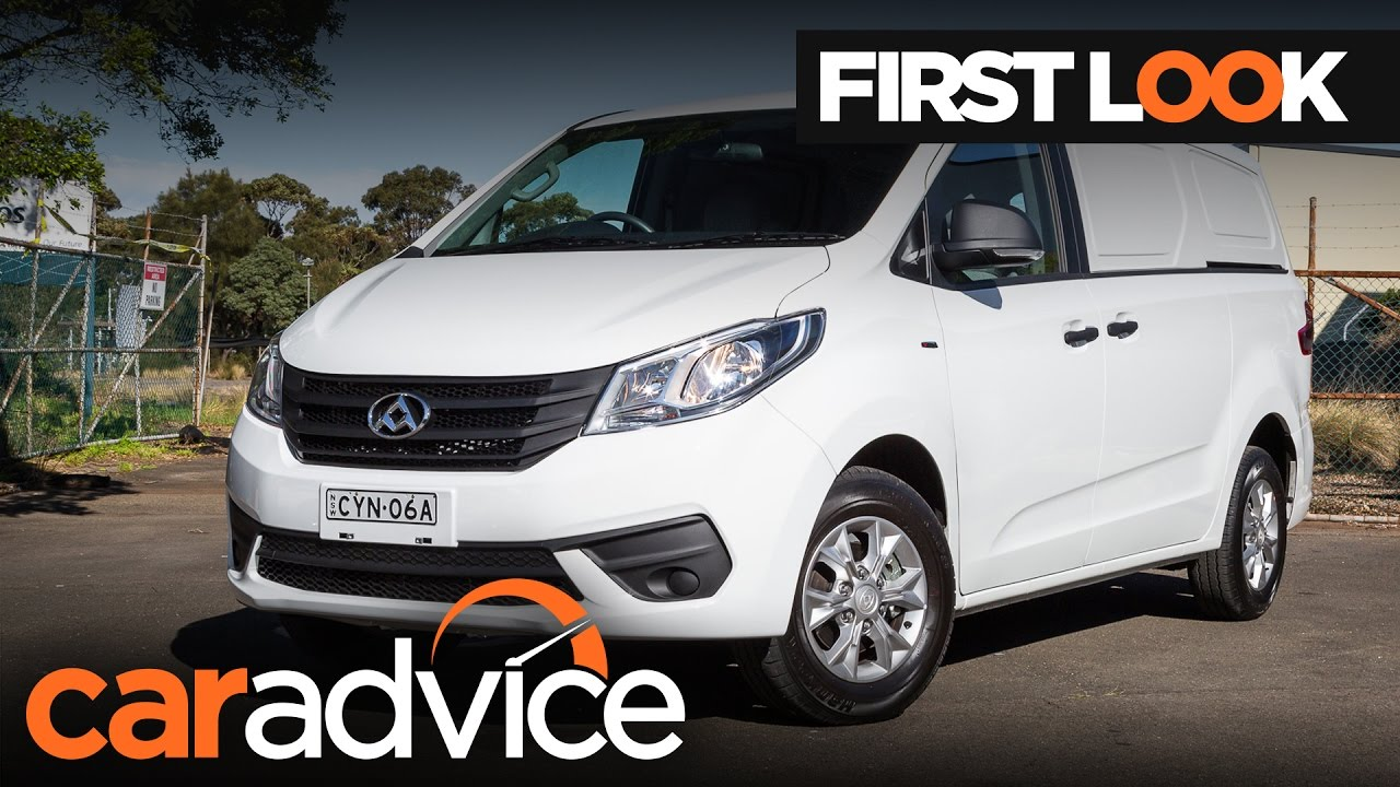 2017 LDV G10 Turbo First Look Review | CarAdvice