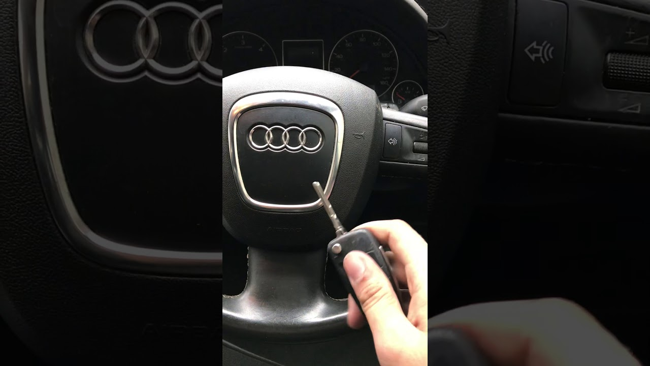 HOW TO REPROGRAM YOUR KEY ON AUDI AFTER CHANGING REPLACING
