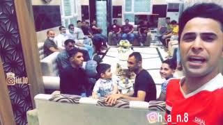 اجمل ماقاله المعلق حسين الشوالي على الفرق الشعبيه ولرياضه في بيت اليرموك