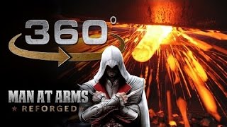 Forging The Sword of Altair in 360° - Assassi...