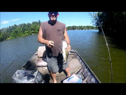 Central ohio Bass fishing (personal best)