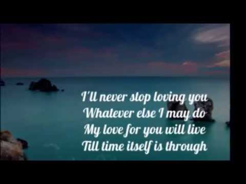 DORIS DAY - I'LL NEVER STOP LOVING YOU