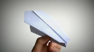 How To Make The Best Paper Airplane | Origami Plane 9 Easy Steps