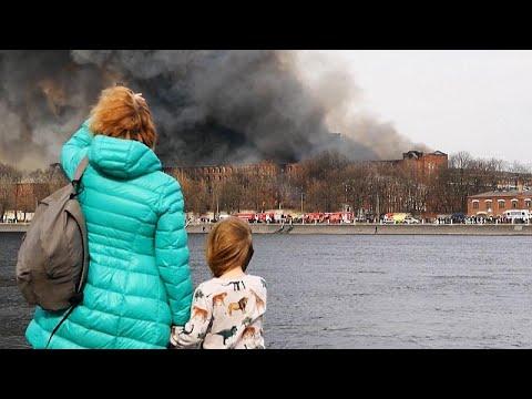 فيديو: النيران تلتهم مبنى أثرياً يعود تاريخ بنائه لعام 1841 في سانت بطرسبرغ…  - نشر قبل 8 ساعة