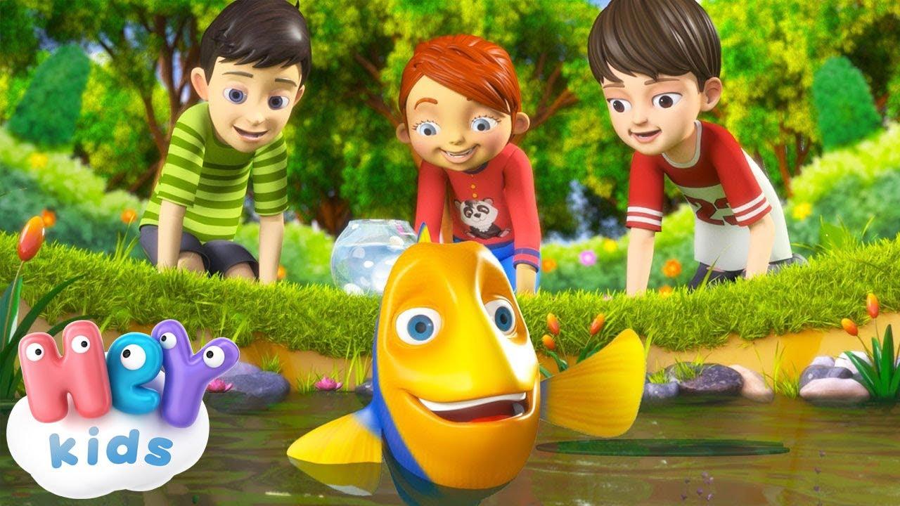 Маленькая рыбка - Сборник детских песен - Песни Для Детей