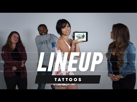 Which Tattoo Belongs to Which Person?  Lineup  Cut