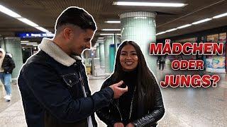 JUNGS oder MÄDCHEN? Wer ist schlimmer in Frankfurt? 😂 l Yavi TV