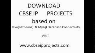 download cbse ip projects for class 12