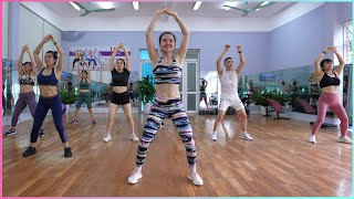 Easy Exercise To Lose Belly Fat - 22 Mins Aerobic Workout At Home | EMMA Fitness