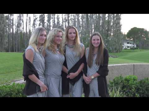 Team USA Enjoys Fed Cup Dinner With Czech Republic At Saddlebrook