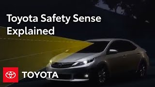 Toyota Safety Sense Overview | Toyota