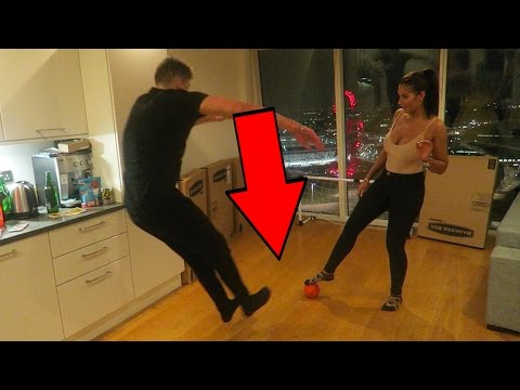 R INDOOR FOOTBALL TOURNAMENT CHALLENGE WITH JESSICA ROSE