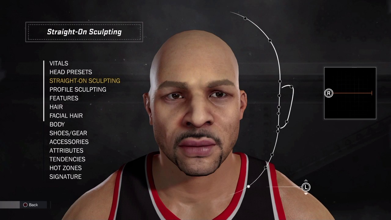 b1d080124 How to make carlos boozer your myplayer nba tutorial creation jpg 1280x720  Carlos boozer head