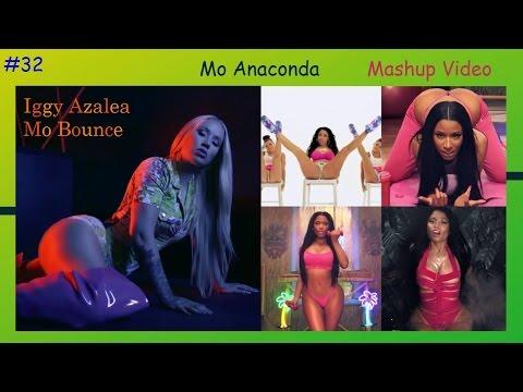 Iggy Azalea - Mo Bounce & Nicki Minaj - Anaconda (Mashup Video)