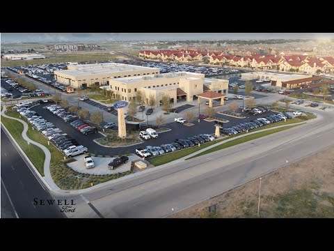 New Ford & Used Car Dealer in Odessa, TX - Sewell Ford near