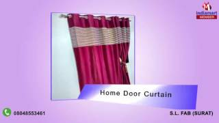 Door And Window Curtain By S.l. Fab, Surat