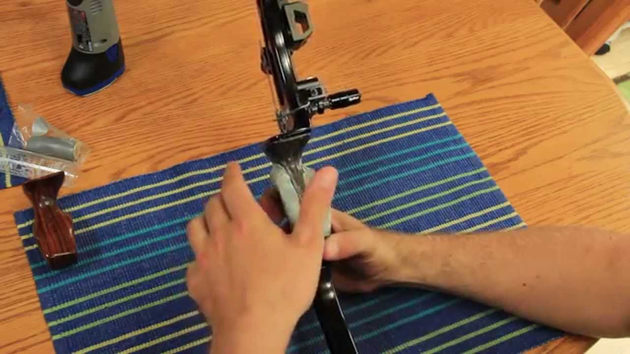 Custom Diy Recurve Or Compound Bow Grip Youtube